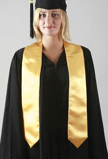 echarpe diplome or