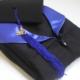 toge et coiffe premium noir et bleu royal