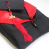 toge et coiffe premium noir et rouge